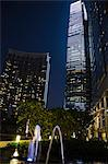 ICC building from podium garden, Kowloon west, Hong Kong Stock Photo - Premium Rights-Managed, Artist: Oriental Touch, Code: 855-06339192