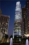 ICC building from podium garden, Kowloon west, Hong Kong Stock Photo - Premium Rights-Managed, Artist: Oriental Touch, Code: 855-06339193