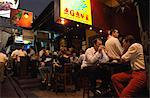 Nightlife at Lan Kwai Fong, Central, Hong Kong Stock Photo - Premium Rights-Managed, Artist: Oriental Touch, Code: 855-06339357