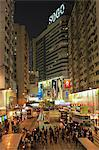 Busy Causeway Bay at night, Hong Kong Stock Photo - Premium Rights-Managed, Artist: Oriental Touch, Code: 855-06339363