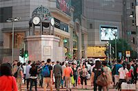 people on mall - Times Square, Causeway Bay, Hong Kong Stock Photo - Premium Rights-Managednull, Code: 855-06339387