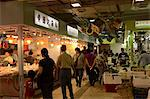 Wanchai market, Wanchai, Hong Kong Stock Photo - Premium Rights-Managed, Artist: Oriental Touch, Code: 855-06339471