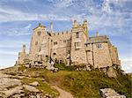St Michael's Mount Castle viewed close up, Cornwall, England, UK, Europe. Stock Photo - Premium Rights-Managed, Artist: Robert Harding Images, Code: 841-06340793