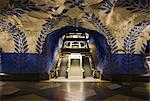Artwork in Kungstradgarden subway station, Stockholm, Sweden, Scandinavia, Europe Stock Photo - Premium Rights-Managed, Artist: Robert Harding Images, Code: 841-06340802