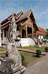 Wat Phra Singh, Buddhist temple, Chiang Mai, Thailand, Southeast Asia, Asia Stock Photo - Premium Rights-Managed, Artist: Robert Harding Images, Code: 841-06341087