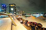 Opera Bar and Circular Quay at night, Syndey, New South Wales, Australia, Pacific Stock Photo - Premium Rights-Managed, Artist: Robert Harding Images, Code: 841-06341117