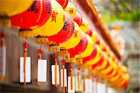 Brightly coloured Chinese lanterns at Kek Lok Si Temple, Penang, Malaysia, Southeast Asia, Asia Stock Photo - Premium Rights-Managednull, Code: 841-06341159