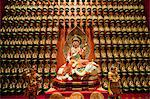 Wall of gold statues at the Buddha Tooth Relic Museum in Chinatown, Singapore, Southeast Asia, Asia Stock Photo - Premium Rights-Managed, Artist: Robert Harding Images, Code: 841-06341168