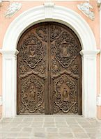Door of San Augustin church, the oldest church in Manila dating from 1607, which survived American bombing, UNESCO World Heritage Site, Philippines, Southeast Asia, Asia Stock Photo - Premium Rights-Managednull, Code: 841-06341357