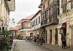 Crisologo Street, Vigan, UNESCO World Heritage Site, Ilocos Sur, Philippines, Southeast Asia, Asia Stock Photo - Premium Rights-Managed, Artist: Robert Harding Images, Code: 841-06341402