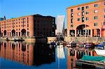 Albert Dock, Liverpool, Merseyside, England, United Kingdom, Europe Stock Photo - Premium Rights-Managed, Artist: Robert Harding Images, Code: 841-06341447
