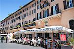 Outdoor restaurant, Piazza Navona, Rome, Lazio, Italy, Europe Stock Photo - Premium Rights-Managed, Artist: Robert Harding Images, Code: 841-06341471