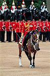Soldiers at Trooping the Colour 2012, The Queen's Birthday Parade, Horse Guards, Whitehall, London, England, United Kingdom, Europe Stock Photo - Premium Rights-Managed, Artist: Robert Harding Images, Code: 841-06341531