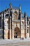 Santa Maria da Vitoria Monastery, UNESCO World Heritage Site, Batalha, Portugal, Europe Stock Photo - Premium Rights-Managed, Artist: Robert Harding Images, Code: 841-06341627