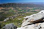 View from the top of the pass, Swartberg Pass, Swartberg Nature Reserve, South Africa, Africa Stock Photo - Premium Rights-Managed, Artist: Robert Harding Images, Code: 841-06341687