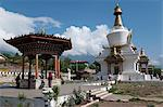 National memorial Chorten, Thimpu, Bhutan, Asia Stock Photo - Premium Rights-Managed, Artist: Robert Harding Images, Code: 841-06341745