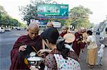 Monks gathering alms in the streets of Yangon, Myanmar (Burma), Asia Stock Photo - Premium Rights-Managed, Artist: Robert Harding Images, Code: 841-06341807