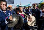 Music band in yearly procession to monastery on Pa Oh minority National Day, Taungyi, Southern Shan State, Myanmar (Burma), Asia Stock Photo - Premium Rights-Managed, Artist: Robert Harding Images, Code: 841-06341828