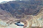 The Lavender open pit copper mine in Bisbee, Arizona, United States of America, North America Stock Photo - Premium Rights-Managed, Artist: Robert Harding Images, Code: 841-06341882
