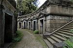 Egyptian Avenue, Highgate Cemetery West, Highgate, London, England, United Kingdom, Europe Stock Photo - Premium Rights-Managed, Artist: Robert Harding Images, Code: 841-06342012