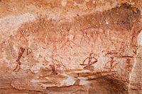 prehistoric - Rock paintings, Twyfelfontein, UNESCO World Heritage Site, Damaraland, Kunene Region, Namibia, Africa Stock Photo - Premium Rights-Managednull, Code: 841-06342723