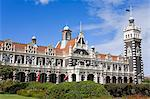 Railway Station, Central Business District, Dunedin, Otago District, South Island, New Zealand, Pacific Stock Photo - Premium Rights-Managed, Artist: Robert Harding Images, Code: 841-06342872