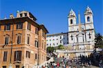 Piazza di Spagna and Spanish Steps, Rome, Lazio, Italy, Europe Stock Photo - Premium Rights-Managed, Artist: Robert Harding Images, Code: 841-06342895