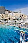 Swimming pool in La Condamine area, Monte Carlo, Monaco, Mediterranean, Europe Stock Photo - Premium Rights-Managed, Artist: Robert Harding Images, Code: 841-06342911