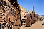Old Dinah, a 1894 steam tractor in Furnace Creek, Death Valley National Park, California, United States of America, North America Stock Photo - Premium Rights-Managed, Artist: Robert Harding Images, Code: 841-06342938