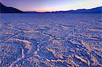 Badwater salt flats in Death Valley National Park, California, United States of America, North America Stock Photo - Premium Rights-Managed, Artist: Robert Harding Images, Code: 841-06342941