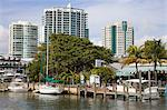 Dinner Key Marina in Coconut Grove, Miami, Florida, United States of America, North America Stock Photo - Premium Rights-Managed, Artist: Robert Harding Images, Code: 841-06342977