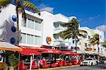 Johnny Rockets restaurant in South Beach, City of Miami Beach, Florida, United States of America, North America Stock Photo - Premium Rights-Managed, Artist: Robert Harding Images, Code: 841-06342990