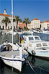 Fishing boats on the waterfront, Split, Dalmatian Coast, Croatia, Europe Stock Photo - Premium Rights-Managed, Artist: Robert Harding Images, Code: 841-06343025