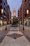 New shopping center and apartments in the wealthy area of Gueliz in Marrakesh, Morocco, North Africa, Africa Stock Photo - Premium Rights-Managed, Artist: Robert Harding Images, Code: 841-06343127