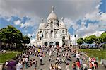 Basilique du Sacre Coeur, Montmartre, Paris, France, Europe Stock Photo - Premium Rights-Managed, Artist: Robert Harding Images, Code: 841-06343136