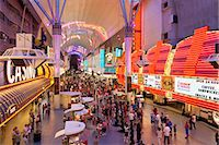 The Freemont Street Experience in Downtown Las Vegas, Las Vegas, Nevada, United States of America, North America Stock Photo - Premium Rights-Managednull, Code: 841-06343178