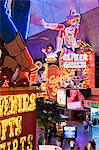 The Freemont Street Experience in Downtown Las Vegas, Las Vegas, Nevada, United States of America, North America Stock Photo - Premium Rights-Managed, Artist: Robert Harding Images, Code: 841-06343184