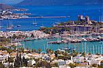 The harbour and the castle of St. Peter, Bodrum, Anatolia, Turkey, Asia Minor, Eurasia Stock Photo - Premium Rights-Managed, Artist: Robert Harding Images, Code: 841-06343292