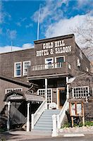 saloon - Gold Hill Hotel and Saloon, Nevada's oldest hotel dating from 1859, Virginia City, Nevada, United States of America, North America Stock Photo - Premium Rights-Managednull, Code: 841-06343350