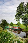 Narrowboats on the Monmouthshire and Brecon Canal near Llanfrynach, Brecon Beacons National Park, Powys, Wales, United Kingdom, Europe Stock Photo - Premium Rights-Managed, Artist: Robert Harding Images, Code: 841-06343493