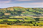 Patchwork fields and rolling countryside, Brecon Beacons National Park, Carmarthenshire, Wales, United Kingdom, Europe Stock Photo - Premium Rights-Managed, Artist: Robert Harding Images, Code: 841-06343502
