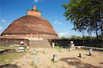 Jetavanarama Dagoba, Anuradhapura, UNESCO World Heritage Site, North Central Province, Sri Lanka, Asia Stock Photo - Premium Rights-Managed, Artist: Robert Harding Images, Code: 841-06343676