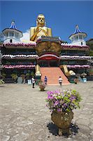 Golden Temple, UNESCO World Heritage Site, and Golden Temple Buddhist Museum, Dambulla, North Central Province, Sri Lanka, Asia Stock Photo - Premium Rights-Managednull, Code: 841-06343751