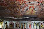 Buddha statues in Cave 2 of the Cave Temples, UNESCO World Heritage Site, Dambulla, North Central Province, Sri Lanka, Asia Stock Photo - Premium Rights-Managed, Artist: Robert Harding Images, Code: 841-06343757