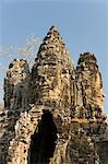 South Gate, Angkor Thom, Angkor Archaeological Park, UNESCO World Heritage Site, Siem Reap, Cambodia, Indochina, Southeast Asia, Asia Stock Photo - Premium Rights-Managed, Artist: Robert Harding Images, Code: 841-06343865