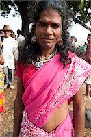 Launda dancer, a transsexual Bihari man dressed as a woman to dance at village weddings and fairs, Sonepur Cattle fair, Bihar, India, Asia Stock Photo - Premium Rights-Managednull, Code: 841-06343880
