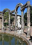 Hadrian's Villa, Canopus Canal, UNESCO World Heritage Site, Tivoli, Rome, Lazio, Italy, Europe Stock Photo - Premium Rights-Managed, Artist: Robert Harding Images, Code: 841-06343967