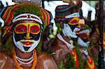 Colourfully dressed and face painted local tribes celebrating the traditional Sing Sing in the Highlands of Papua New Guinea, Pacific Stock Photo - Premium Rights-Managed, Artist: Robert Harding Images, Code: 841-06344081