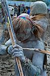 Mudman tribe celebrates the traditional Sing Sing in the Highlands of Papua New Guinea, Pacific Stock Photo - Premium Rights-Managed, Artist: Robert Harding Images, Code: 841-06344087