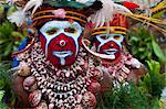 Colourfully dressed and face painted local tribes celebrating the traditional Sing Sing, Enga, Highlands of Papua New Guinea, Pacific Stock Photo - Premium Rights-Managed, Artist: Robert Harding Images, Code: 841-06344090